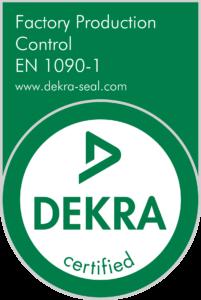 Dekra certification EN 1090
